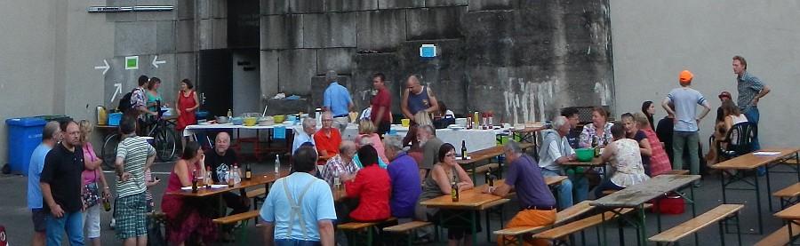 Sommerfest 2014 gegen Ende