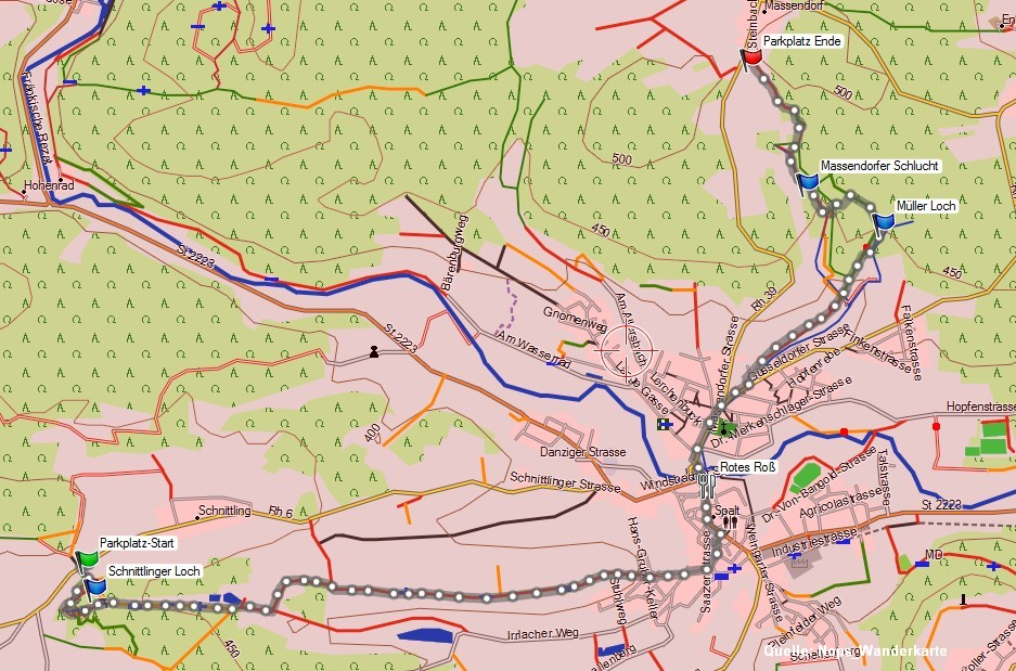 Karte-Wanderung-Spalt-2014