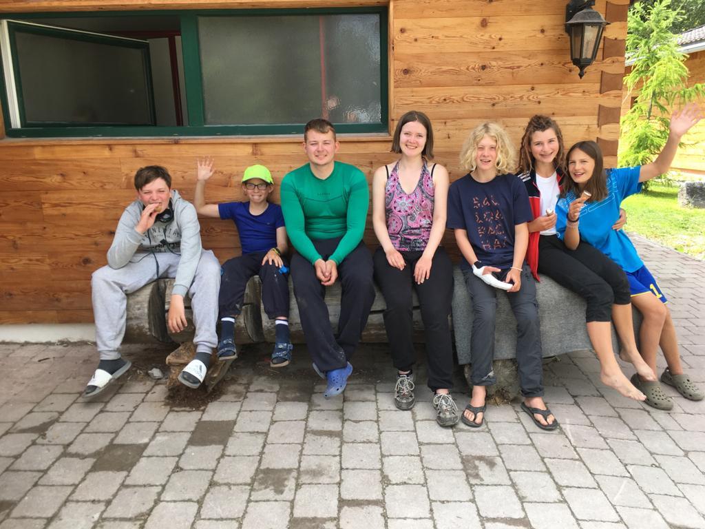 Jugend des Kanuvereins Nuernberg auf der Wildwasserwoche