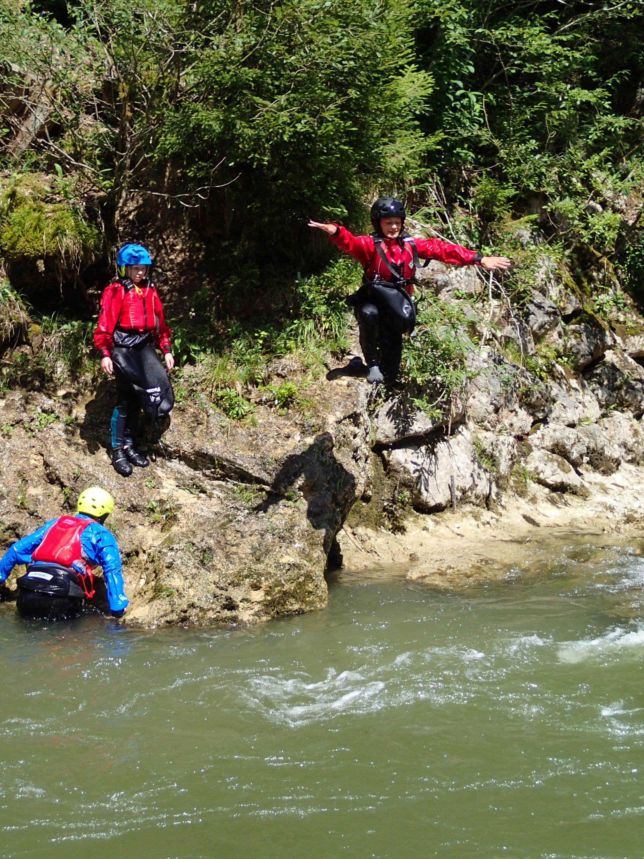 Jugend-Wildwasser-Woche des Kanuvereins Nuernberg